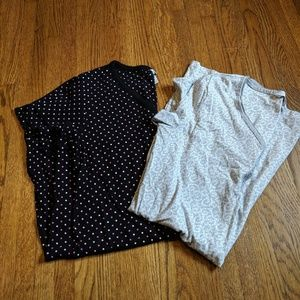 Two short sleeve Nightgowns